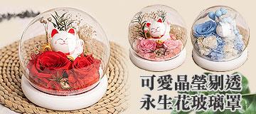 首頁右上小Banner-可愛永生花玻璃罩