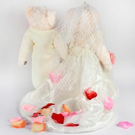 婚禮氣氛 出場玫瑰花人造灑花瓣 混合色出貨 新娘花瓣  人造花瓣