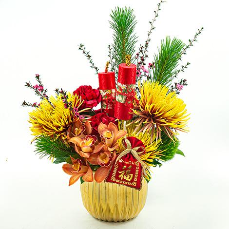 春節花卉首選 萬事如意開運盆花 全省代客送禮 過年居家擺飾  猴年送禮  賀歲禮  新春拌手禮