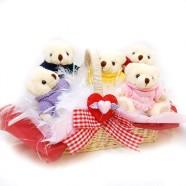 小熊系列 毛衣熊熊家族