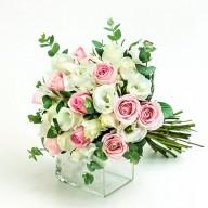 溫柔婉約新娘捧花 婚禮最愛