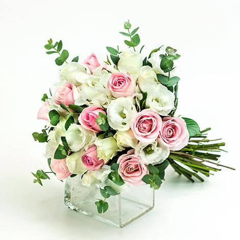 溫柔婉約新娘捧花 婚禮最愛 抽捧花 婚禮用品 新娘捧花胸花
