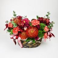 祝賀送禮 推薦紅玫瑰火龍果盆花