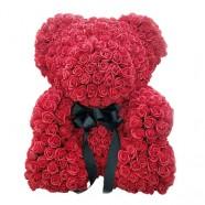 驚喜送什麼好 客製玫瑰花泰迪熊