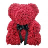 生日禮物送什麼好 客製玫瑰花泰迪熊 擄獲她就靠泰迪熊