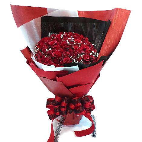 台北花店送花 99朵玫瑰捧花  玫瑰花語 台北花店 玫瑰花語 捧花 玫瑰 送花