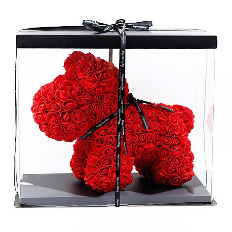 情人節要送什麼 紅玫瑰忠心狗  獨家情人節禮物