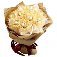 全省送花 情人節送禮經典金莎花束