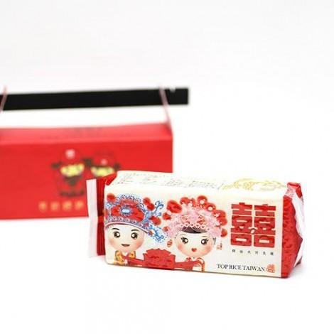 婚禮小物推薦 中國風喜事 鎖住幸福喜米 喝茶禮 送客小禮 喝茶禮 喜米