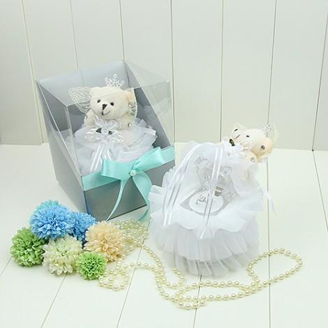 求婚告白 柔美浪漫小熊戒盒 婚禮佈置 結婚對戒 婚禮佈置 訂婚戒指 告白小禮物
