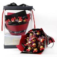 花店強打  甜蜜金莎巧克力花束 銷售冠軍
