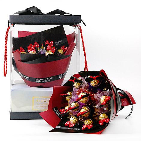 花店強打  甜蜜金莎巧克力花束 銷售冠軍 金莎巧克力花束 情人節禮物 情人節要送什麼