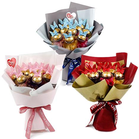 花店推薦 金莎巧克力花束 網路花店 金莎巧克力花束 巧克力花束 花店 網路花店