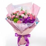 母親節送什麼好 支持粉色康乃馨花束