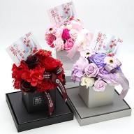 母親節禮物推薦 香皂花禮盒 網路花店代客送花