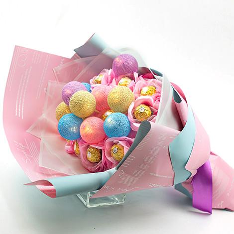 特別禮物 西洋情人節金莎花束 西洋情人節花束 情人禮物 特別禮物