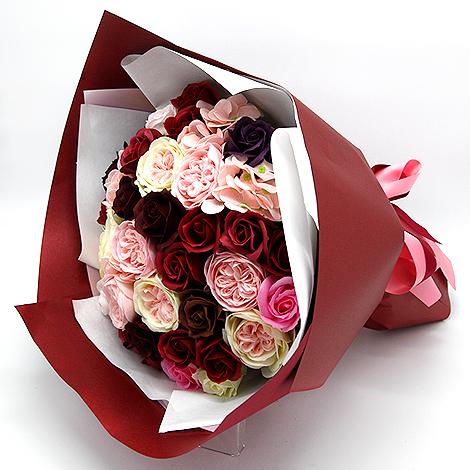 情人節送什麼好 玫瑰花香皂花束 情人節送禮 情人節送什麼好 玫瑰花香皂花束