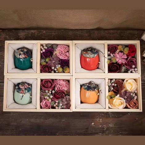 母親節特別禮物 玫瑰香皂花禮盒 特別禮物 玫瑰香皂花