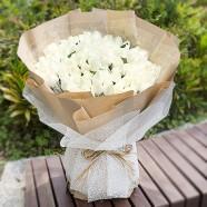 花店送花 愛戀99朵白玫瑰花束
