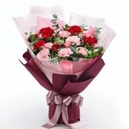 母親節送什麼禮物 推薦康乃馨高雅花束
