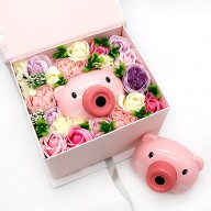 台北花店 獨家泡泡相機花禮盒