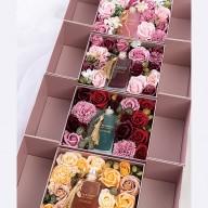 母親節禮物排行榜 鎏金香薰玫瑰香皂花禮盒