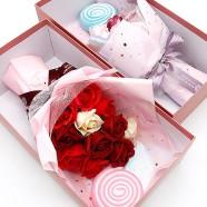 情人節花束 甜蜜蜜棒棒糖香皂花束