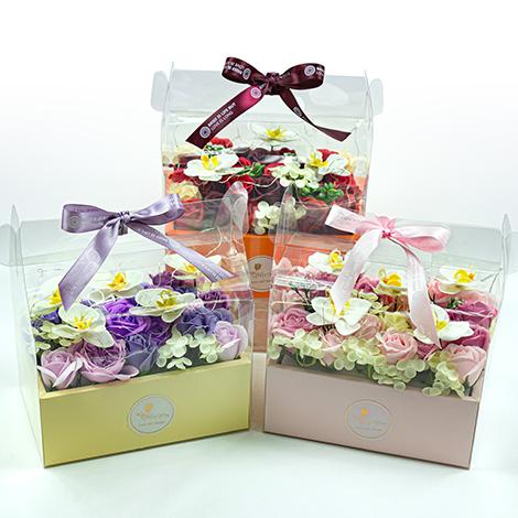 獨家告白 情人節禮物 led燈香皂花禮盒 香皂花 情人節禮物 告白禮物