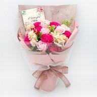 推薦母親節花束 康乃馨香皂花束