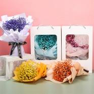 滿天星乾燥花 花束禮盒