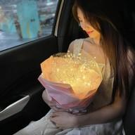 花店獨家 情人節商品 璀璨水晶花束